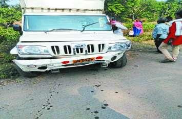 Omkareshwar में तेज रफ्तार वाहन टकराया, कई घायल