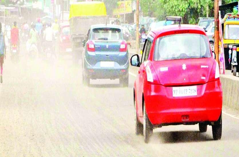 बदलता मौसम ही नहीं शहर की आबोहवा में लगातार घुल रहा प्रदूषण भी कर रहा है बीमार
