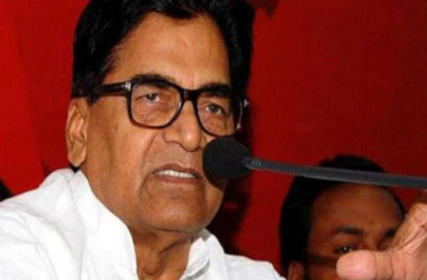 सपा नेता रामगोपाल यादव की मांग, यूपी में लगे राष्ट्रपति शासन