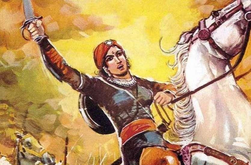 लक्ष्मीबाई का शौर्य और तानसेन के राग सुनाएंगी दीवारें
