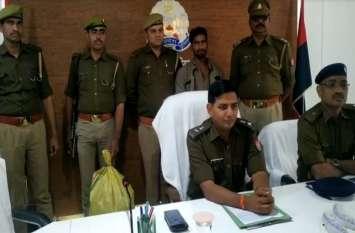 खेत में संचालित असलहा फैक्ट्री का पुलिस ने किया खुलासा, आरोपी सहित उपकरण और तमंचे बरामद