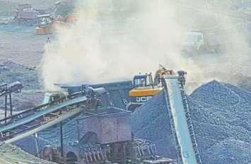 अतिक्रमण कर क्रेशर लगाने का मामला: जांच रिपोर्ट एक माह से पटवारी के बस्ते में फांक रही धूल