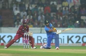 IND vs WI : कोहली की 'विराट' पारी से मिली भारत को बड़ी जीत, विंडीज को 6 विकेट से रौंदा