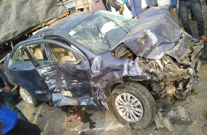 जयपुर-दिल्ली हाइवे पर ब्रेक फेल बेकाबू  ट्रोले की चपेट में आई आठ लग्जरी कारें, एक विदेशी पर्यटक भी चोटिल