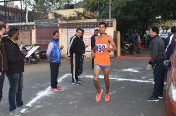 ऑल इंडिया रेलवे की क्रॉस कंट्री रेस उदयपुर में, देशभर के करीब 100 खिलाड़ियों ने लिया भाग...देखें तस्वीरें