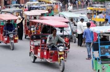 Wallcity में  सिमटा ई-रिक्शा, फैलाना है दायरा पर जिम्मेदार Plan बनाकर भूले