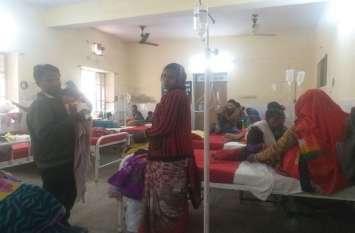 अलवर में हो रहा है प्रसुताओं से एेसा बर्ताव, एक कंबल में रात गुजारने को मजबूर है प्रसुताएं