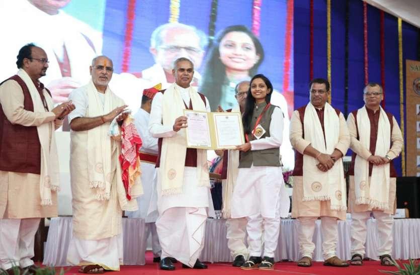 Ahmedabad News : सौराष्ट्र यूनिवर्सिटी के 54वें दीक्षांत समारोह
