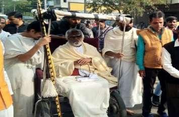 जैन संत ने हैदराबाद पुलिस को लेकर कही बड़ी बात