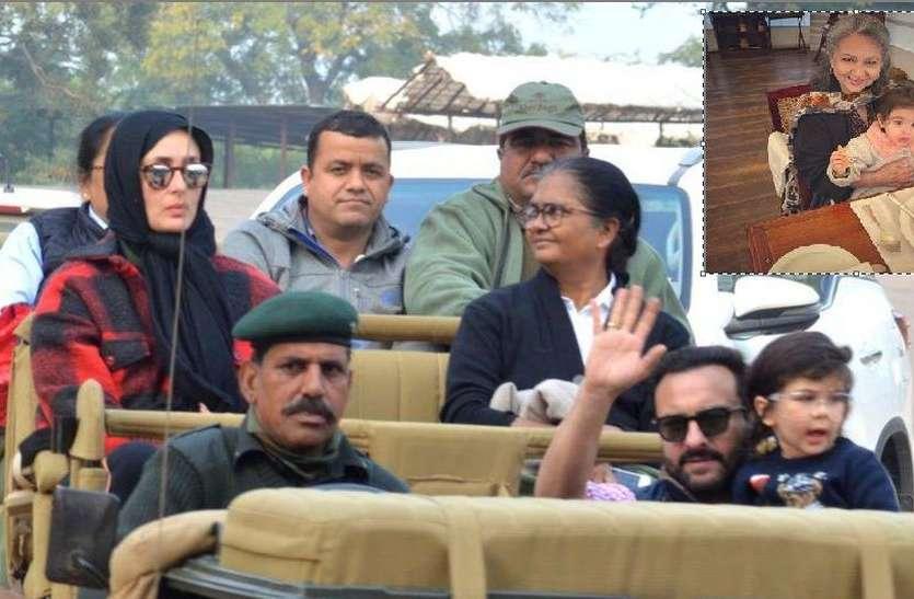 अभिनेत्री शर्मिला टैगोर ने बाघों की नगरी सवाईमाधोपुर में मनाया जन्मदिन, सैफ-करीना, सोहा-कुणाल भी आए