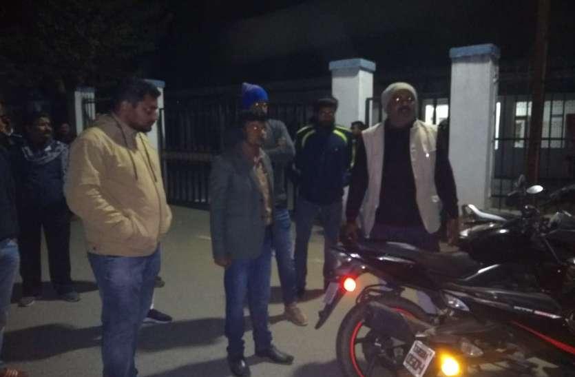 भाजपा उम्मीदवार को पार्षद पति ने की कार से कुचलने की कोशिश! एसपी से शिकायत कर मांगी सुरक्षा