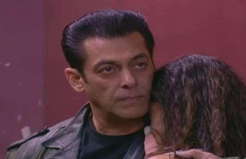 सलमान खान के गले लगकर रोईं रश्मि देसाई