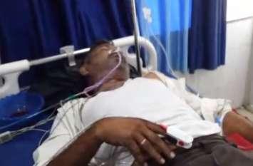 आरोपी ने पुलिस हिरासत में खाया जहर, अस्पताल में कई थानों का जाप्ता तैनात