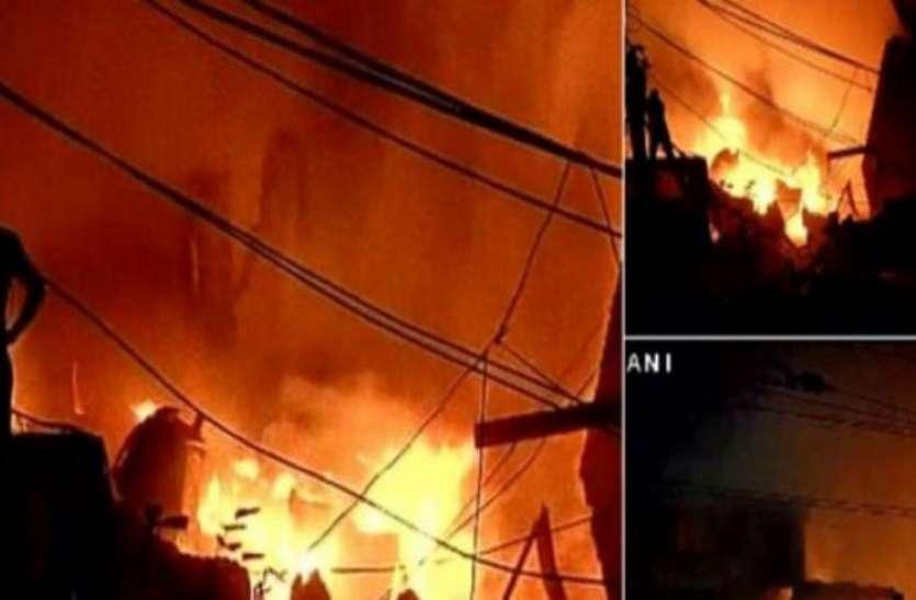अनाज मंडी में लगी आग पर पीएम मोदी और केजरीवाल ने दुख जताया, कहा- कसूरवार पर होगी कार्रवाई