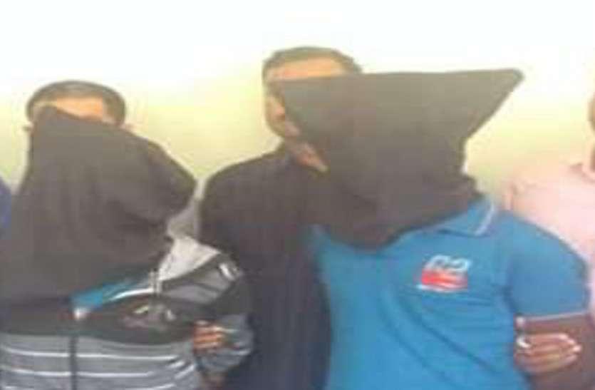 Ahmedabad news वडोदरा में गैंगरेप करने वाले आरोपियों को अहमदाबाद क्राइम ब्रांच ने पकड़ा