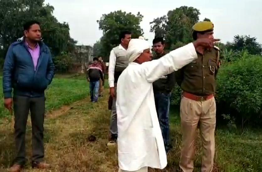 डीएम की फसल काट ले गए किसान, भूमाफियाओं ने जमीन को भी गिरवी रख दिया