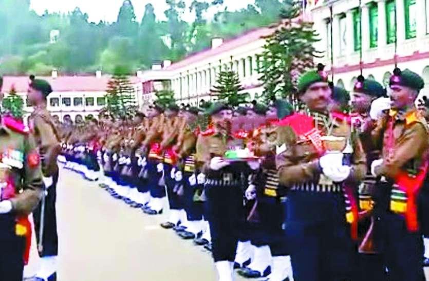 नव प्रशिक्षित 502  सैनिक बने सेना का हिस्सा