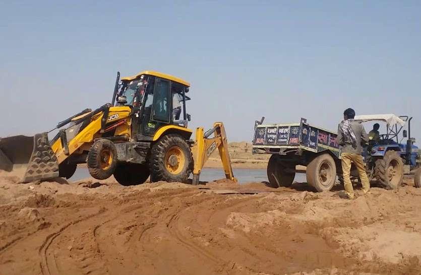 मध्यप्रदेश में सरकार के न्यूनतम मूल्य से तीन गुना ज्यादा में नीलाम हुईं रेत की खदानें