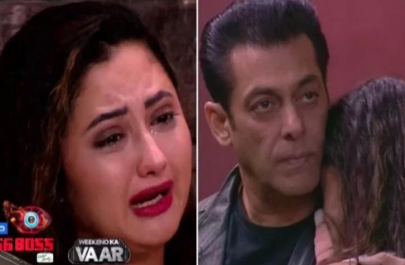 Bigg boss: सलमान खान ने उठाया अरहान के बीवी और बच्चे के राज से पर्दा, फूट-फूट कर सलमान के गले लग कर रोईं रश्मि  देसाई