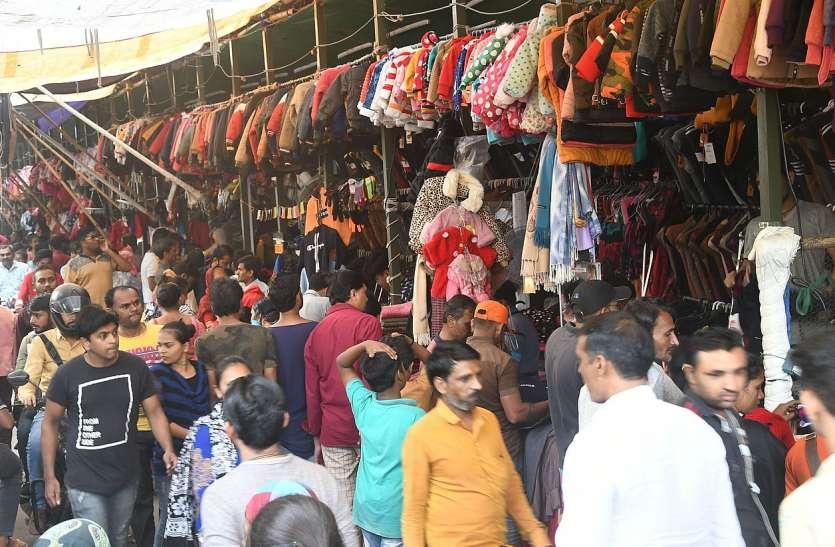 Surat News; सज गया गर्म कपड़ों का बाजार