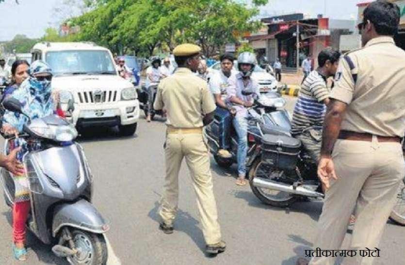 शराब के नशे में बस चालक ने की कुचलने की कोशिश, तो पुलिसकर्मियों ने छलांग लगाकर बचाई जान