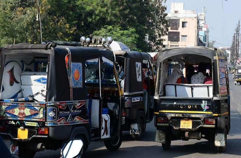 शहर में दौड़ रहे 10 हजार अवैध ऑटो-आपे, तीन दिन में सिर्फ 12 वाहन ही पकड़े