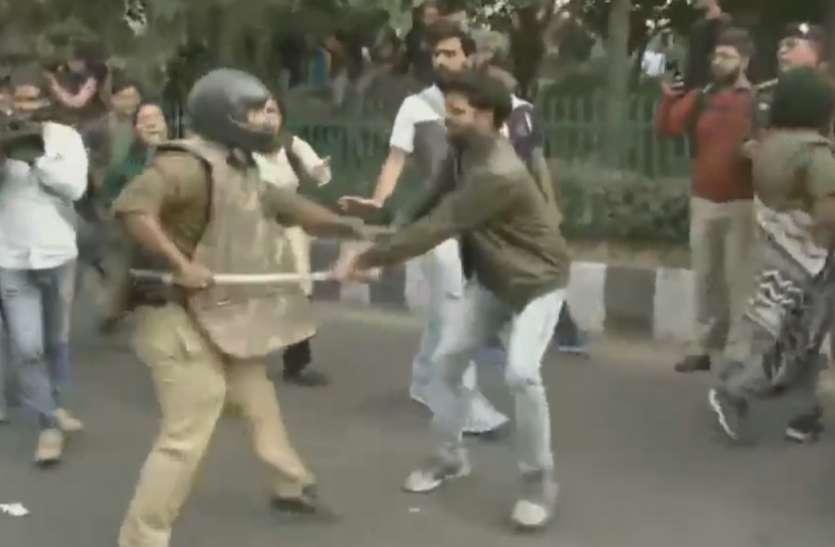जेएनयू छात्रों-शिक्षकों पर हमले के खिलाफ वाम संगठनों का धरना-प्रदर्शन, कमिश्नर को ज्ञापन दिया