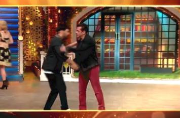 सलमान खान ने पहली बार कपिल शर्मा को सबके सामने कह दिया, मेरा शो है ये... वीडियो वायरल