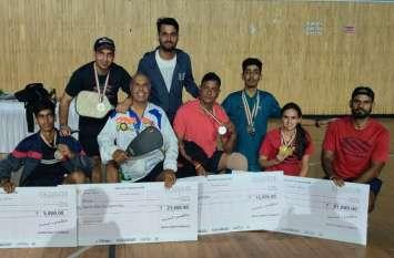 ऑल इंडिया पिकलबॉल टूर्नामेंट में राजस्थान टीम का दबदबा, जीते 7 मेडल