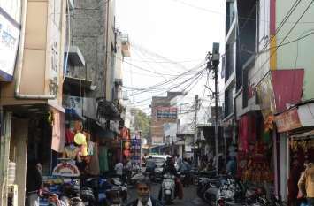 शहर की तंग गलियां : दमकल को पहुंचने में होगी मुश्किल