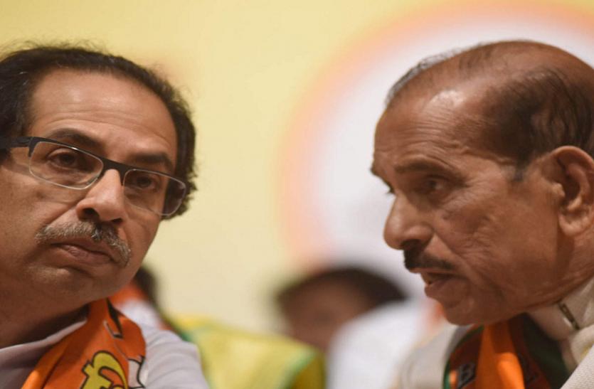 महाराष्ट्र में शिवसेना-भाजपा एक साथ आने का बयान देकर फंसे मनोहर जोशी, पार्टी ने झाड़ा पल्ला
