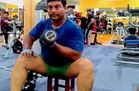गंगा किनारे के छोरों को पावर लिफ्टंग चैंपियन बनाने में जुटे हैं अरविंद शर्मा