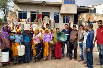 मानपुर में पांच दिन से जलापूर्ति ठप