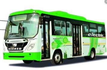 Ghaziabad: 1.25 करोड़ की ई-बस में सफर करेंगे लोग