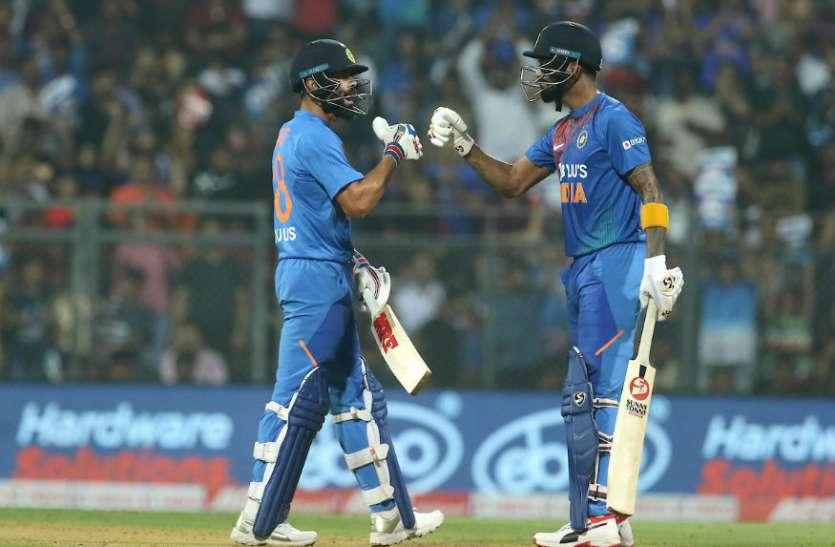 ICC टी20 रैंकिंग में पहली बार तीन भारतीय खिलाड़ी आए टॉप 10 में, कोहली की लंबी छलांग