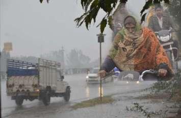 पूर्वी राजस्थान में बारिश के बाद ठिठुरन बढ़ी, दिनभर छाए रहा कोहरा और बादल, कल ओलावृष्टि के आसार
