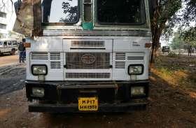 CG से सरिया लेकर MP में गायब हुआ ट्रक मिला, पहचान छिपाने के लिए कराया जा रहा था पेंट