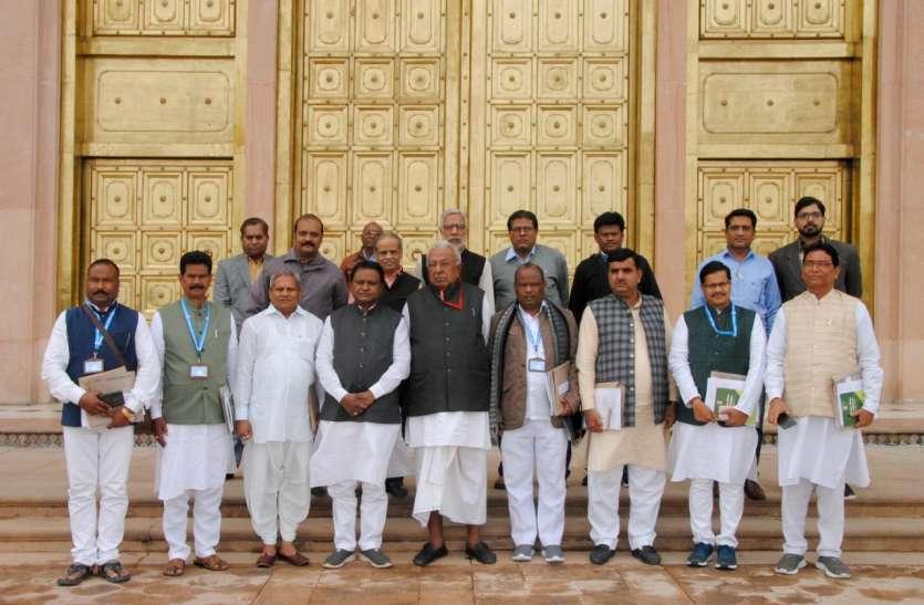 उड़ीसा विधानसभा समिति राजस्थान विधानसभा पहुंची, कार्य प्रणाली पर हुई चर्चा