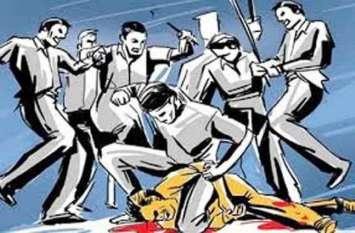 घात लगाए बैठे आधा दर्जन बदमाशों ने कुल्हाड़ी ,लाठियों से किया हमला,मोबाइल व नकदी लूटकर फरार