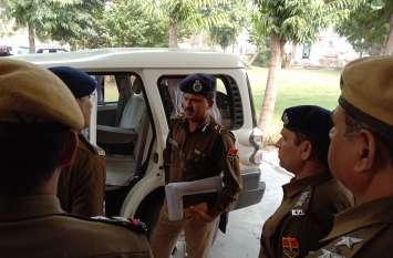 जयपुर आईजी ने पुलिसकर्मियों को दिसम्बर की बताई प्लानिंग