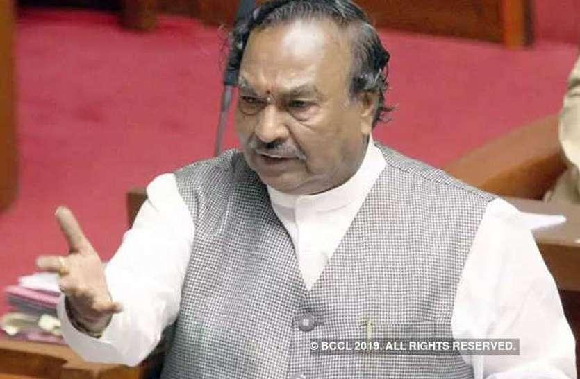 भाजपा को सत्ता दिलाने वालों को ही बनाएंगे मंत्री : ईश्वरप्पा