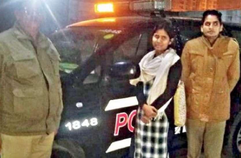 Noida: रात साढ़े 12 बजे डर से कांप रही युवती के लिए फरिश्ते बने पुलिसकर्मी, घर तक छोड़ कर आए
