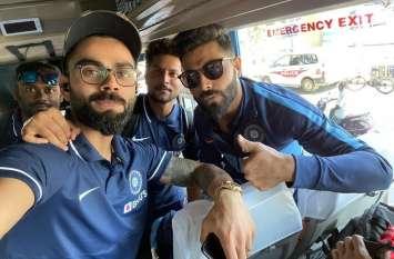 टी20 सीरीज फतह करने के बाद नए मिशन के लिए चेन्नई पहुंची टीम इंडिया, रविवार को पहला मैच