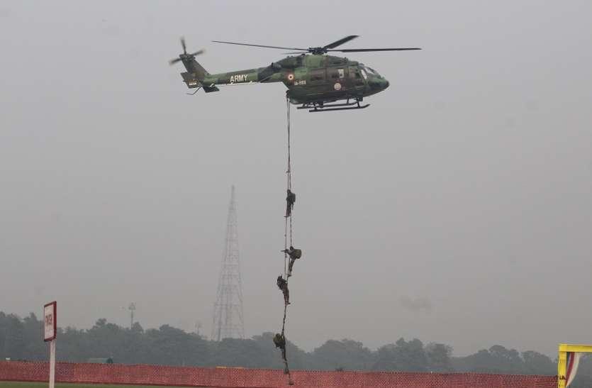 गोलियों की बौछार के बीच पाकिस्तानी सीमा में 18 मिशन