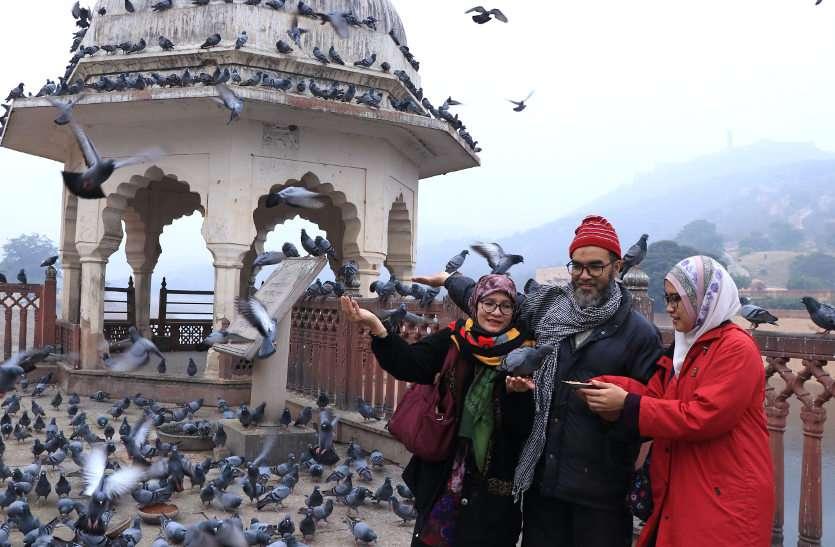 उत्तरी भारत में बर्फबारी से राजस्थान के न्यूतम तापमान में गिरावट, माउंट आबू पहुंचा 2.2 डिग्री