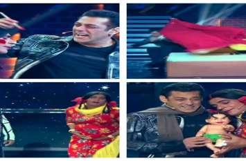 सलमान खान ने नेशनल टेलीविजन पर भरी मांग, हनीमून से लेकर बच्चे तक पहुंची बात.. देखें Video