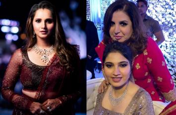 सानिया मिर्जा की बहन अनम की शादी में बॉलीवुड से पहुंचे ये सितारे, खूब जमाया रंग