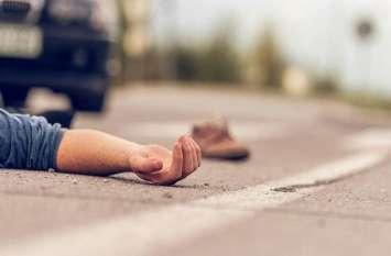 गलत दिशा से आए टैंकर से मोटरसाइकिल सवार व्याख्याता की मौत