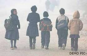 ठंड के चलते कई जिलों में स्कूल बंद किये गए, देखिये पूरी लिस्ट