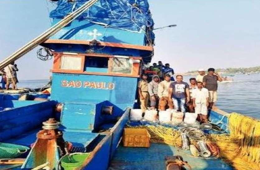 विधायक सिल्वेरा पर अवैध रूप से मछली पकडऩे का आरोप